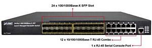 ������� ������������� IPv6 � 10G Ethernet � ����� ������������ PLANET XGS3-2424
