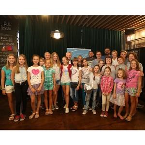 Игорь Янковский встретился с командой «Желтого автобуса» и детьми из зоны АТО