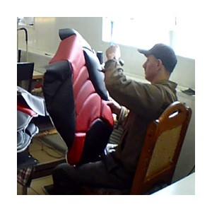 В Кемеровской ИК-29 открыто производство эксклюзивных автомобильных чехлов