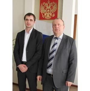 Пензенский бизнес-омбудсмен Карим Кузахметов обсудил аспекты сотрудничества с Федеральным БТИ