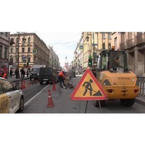 Активисты Народного фронта проверили качество ямочного ремонта дорог в Санкт-Петербурге