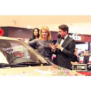«Аукцион подарков» в «М5 Молл»: Renault Logan ушел с молотка за 43 тысячи баллов