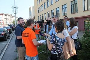 Дорожная инспекция ОНФ проверила состояние дорог в Кемерово