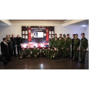Ростовские школьники вступили в ряды Юнармии
