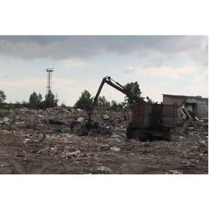 Активисты ОНФ добиваются ликвидации стихийного полигона ТКО в черте Воронежа