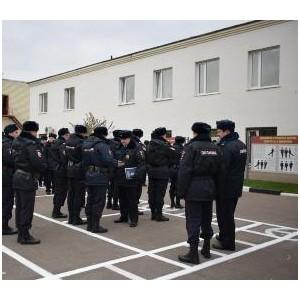 Состоялся строевой смотр личного состава подразделений и служб УВД Зеленограда