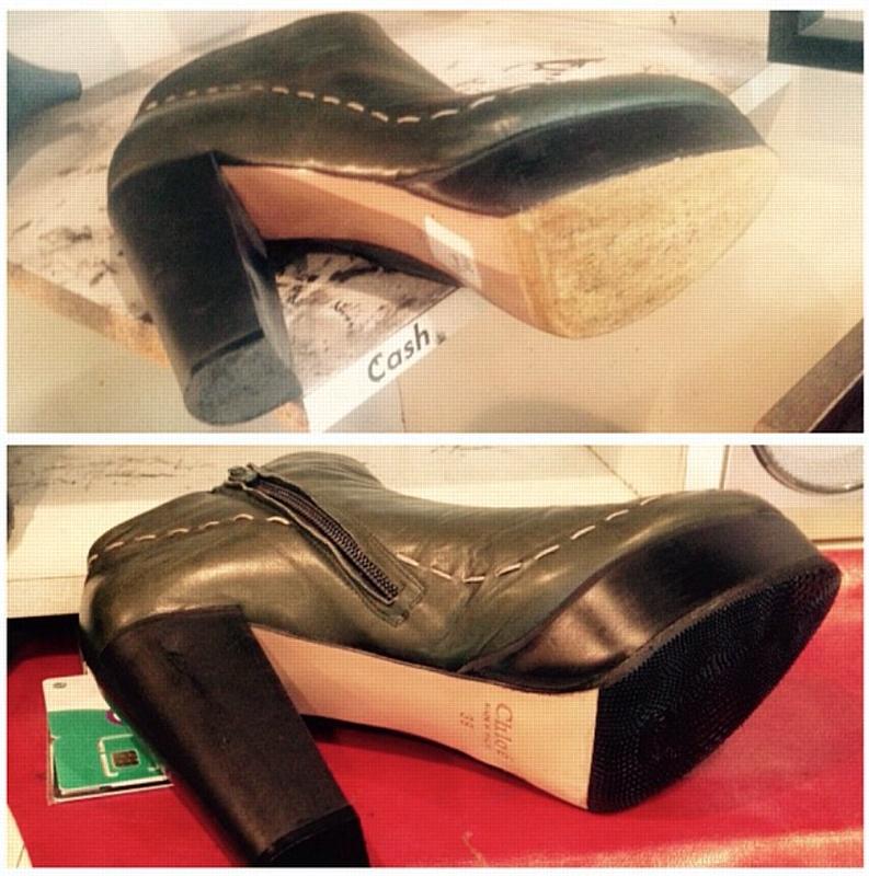 Ремонт кожаной одежды, сумок и обуви в Москве