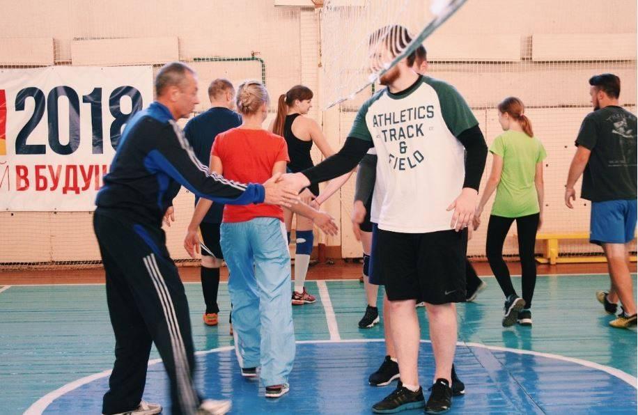 В Дзержинском филиале РАНХиГС прошел отборочный тур соревнований по волейболу