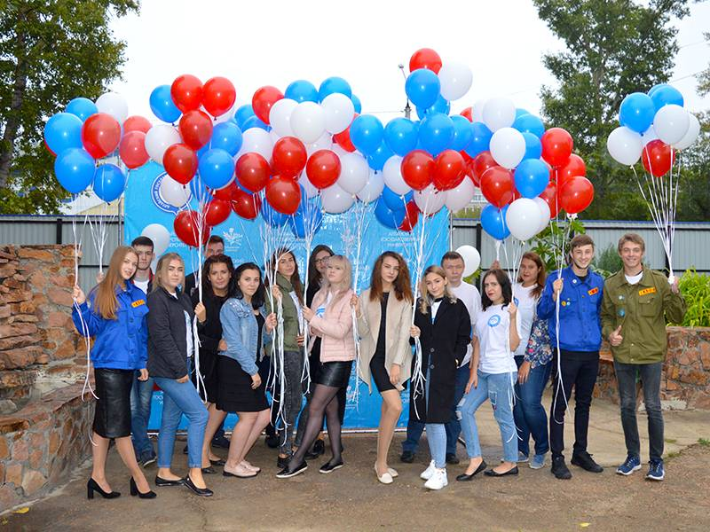 Более 500 первокурсников и родителей приняли участие в праздновании Дня знаний в РИ АлтГУ