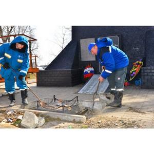 Энергетики восстановили наружное освещение у мемориала в селе Вознесеновка Шебекинского района