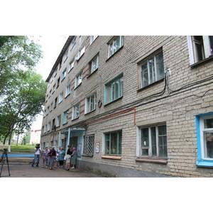 Активисты ОНФ в Мордовии держат на контроле ход капремонта дома по улице Лихачева в Саранске