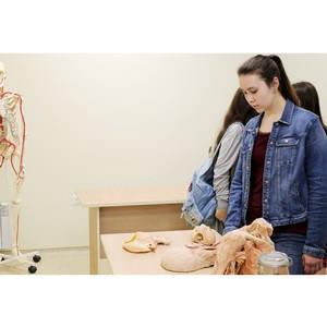 КФУ открыл свои двери для школьников, мечтающих связать жизнь с медициной