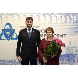 Татьяна Цветкова награждена медалью «За заслуги в развитии ТЭК»