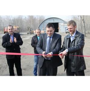 На «Липецкцементе» открылся склад-магазин для мелкооптовых потребителей цемента