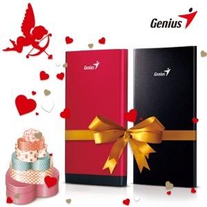 Genius представляет мощные мобильные аккумуляторы ко Дню Святого Валентина