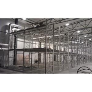 ООО «Корпорация Логистик Груп» оборудовала складской комплекс крупного промышленного предприятия