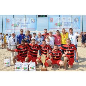 Сборная Крыма – победитель соревнований «Футбольное братство – 2014»