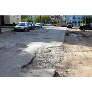 Саранск оказался лучшим из худших в рейтинге «убитых» дорог Поволжья