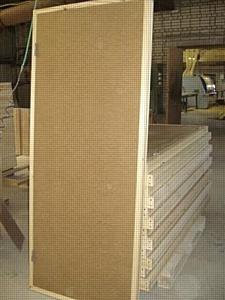Производство оргалитовых дверей