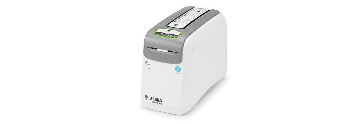 В продаже браслетные принтеры Zebra ZD510-HC для медицинского применения