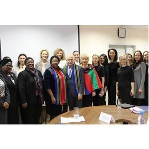 Бизнес-леди Южной Африки ищут партнеров на Среднем Урале