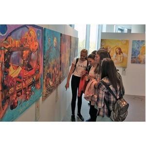 В университете имени Косыгина открылась художественная выставка республики Панама
