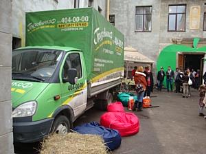 «ГрузовичкоФ» помог благотворительному фестивалю «День Яблок»