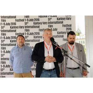 Впервые в истории кинофестиваля в Карловых Варах состоялась презентация украинского кино