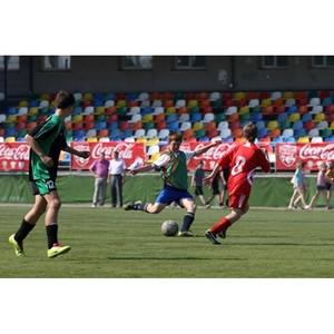 Региональный финал турнира «Кожаный мяч – Кубок Coca-Cola» прошел в Чебоксарах