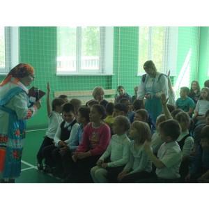 В деревне Ваганово школьники впервые познакомились с марийской сказкой