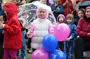 «Баскин Роббинс» подарил жителям Красногорска Праздник мороженого