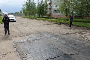 Активисты ОНФ взяли на контроль ремонт дороги в Нововятском районе Кирова