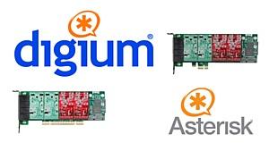 ����� ��������� ���� Digium ������� ������������������ � ���������� Asterisk