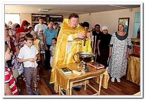 Ростовский храм Петра и Февронии отметит первую годовщину