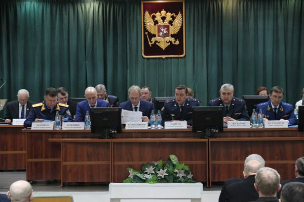 В ГУФСИН России по Кемеровской области прошла расширенная коллегия по итогам работы за 2017 год