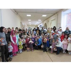 ТРК «Небо» подарил праздник детям