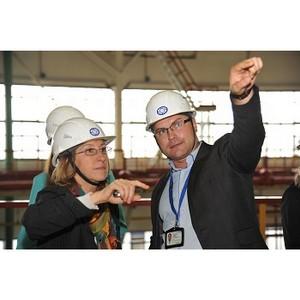 Ростовская АЭС: журналисты региональных СМИ посетили энергоблок №2