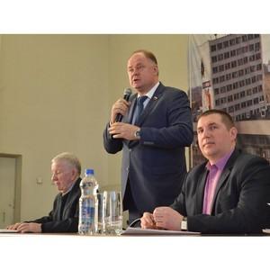 Вадим Супиков выразил благодарность представителям общественности