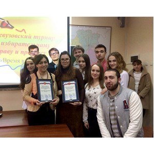 ЮРИУ РАНХиГС принял участие в организации турнира «Время выборов»