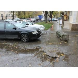 ОНФ в КБР призвал благоустраивать тротуары с учетом требований доступной среды