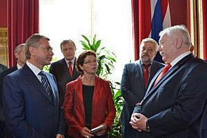 Бургомистр Вены встретился с официальной делегацией Правительства Москвы