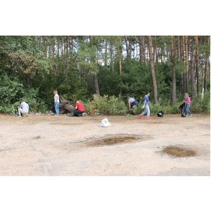 Активисты ОНФ провели экологическую акцию в парке Оптимистов в Воронеже