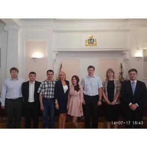 Встреча по созданию Совета молодых ученых и специалистов при Администрации города Екатеринбурга