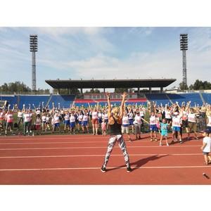 Активисты Народного фронта в Карелии присоединились к акции «ГТО со звездой»