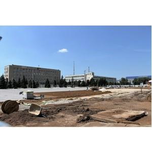 Прокуратура подтвердила выявленные  ОНФ нарушения при реконструкции Центральной площади Бузулука