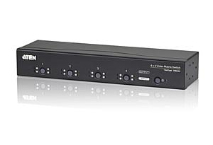 Новинки месяца от Aten: VM0404 4x4, USB DVI KVM CS22D, eco PDU PE5220s