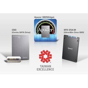 Apacer получает еще одну награду на Taiwan Excellence Award