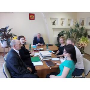 Рабочие совещания при руководителе Управления