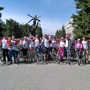 Команда Омскэнерго вышла на ВелоОмск-2016