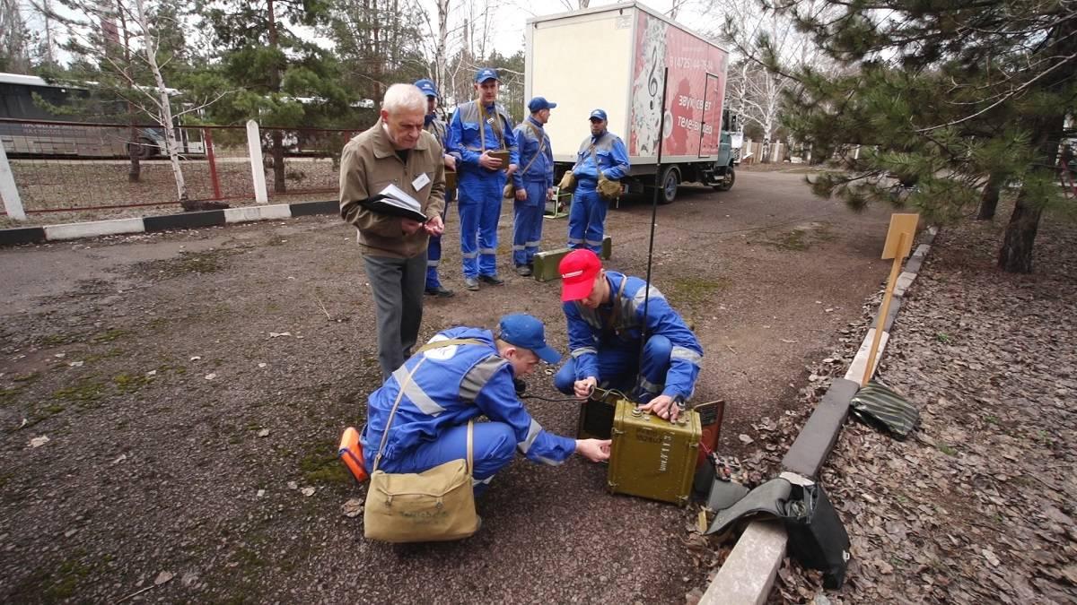 Разведгруппа СГОКа стала победителем городских соревнований по гражданской обороне